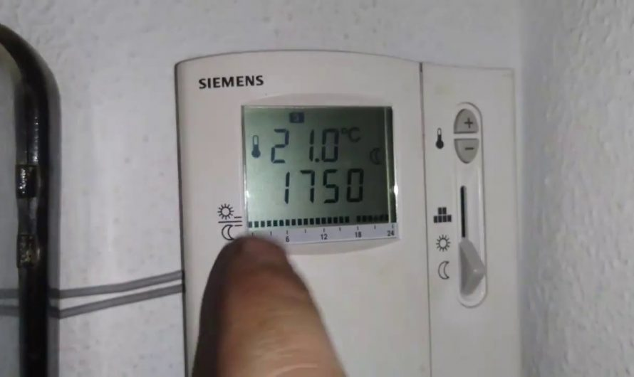Termostato Siemens: Características