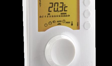 Modelo de termostato Delta Dore programable