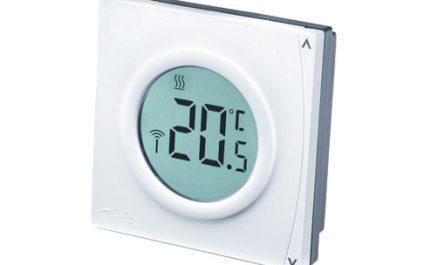 cómo instalar un termostato danfoss