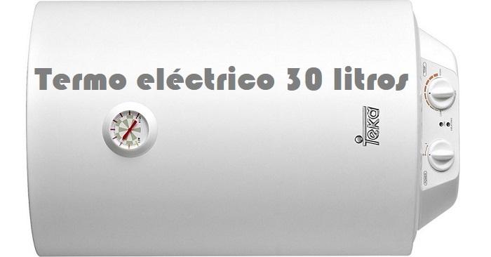 Termo eléctrico 30 litros. ¿Cómo elegir el mejor precio?