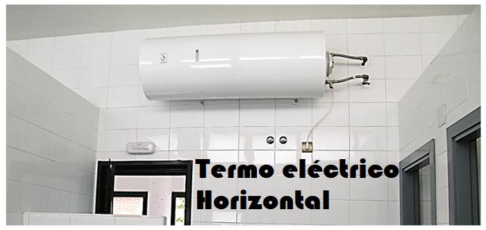 Termo eléctrico Horizontal